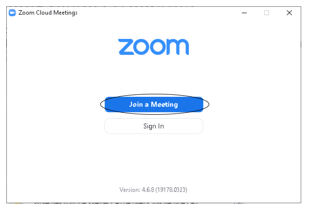 Joining a Zoom meeting on a Windows computer